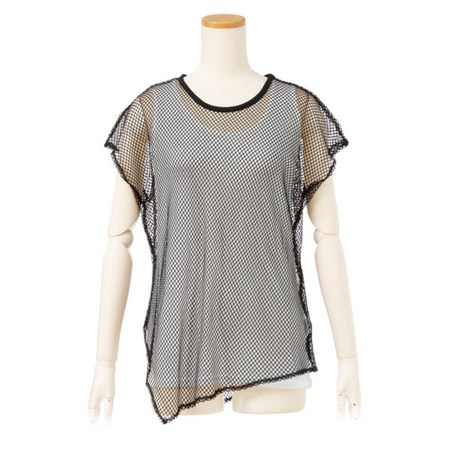 Tシャツ レイヤード メッシュT 17