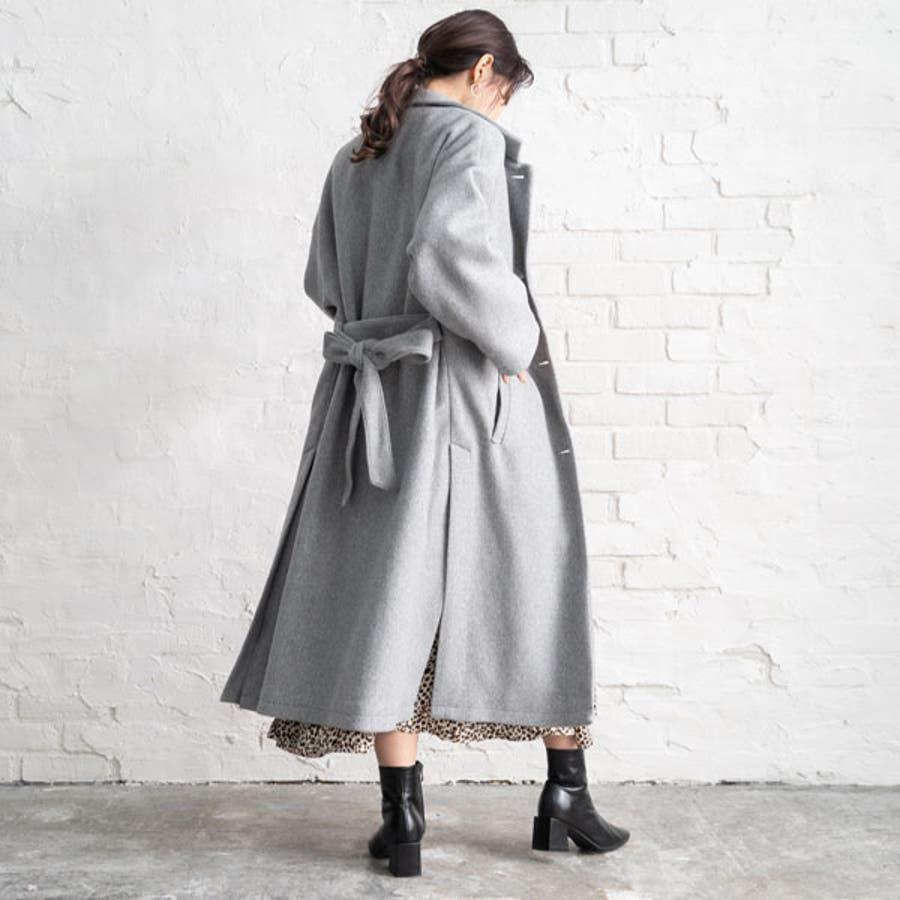 ベルト付き ロング コート 韓国 オルチャン 夢展望 23
