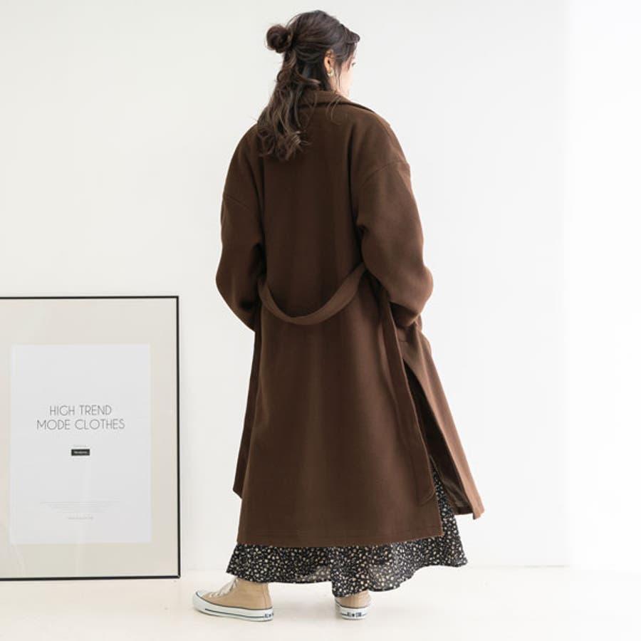 ベルト付き ロング コート 韓国 オルチャン 夢展望 29