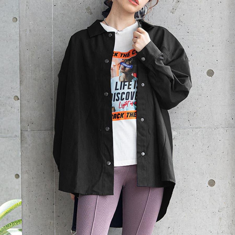 オーバーサイズシャツ 韓国 オルチャン 夢展望 21