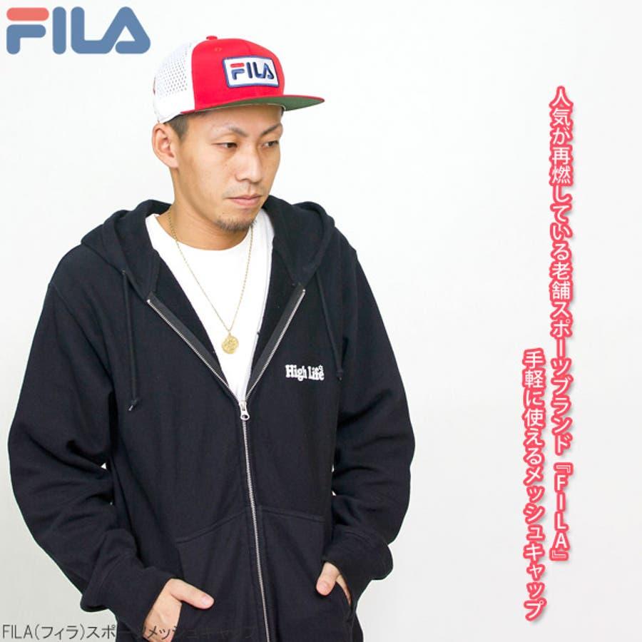 キャップ メンズ 帽子 FILA メッシュキャップ レディース CAP 赤 春夏 秋冬サイズ調節FILA(フィラ)スポーツメッシュキャップ 4