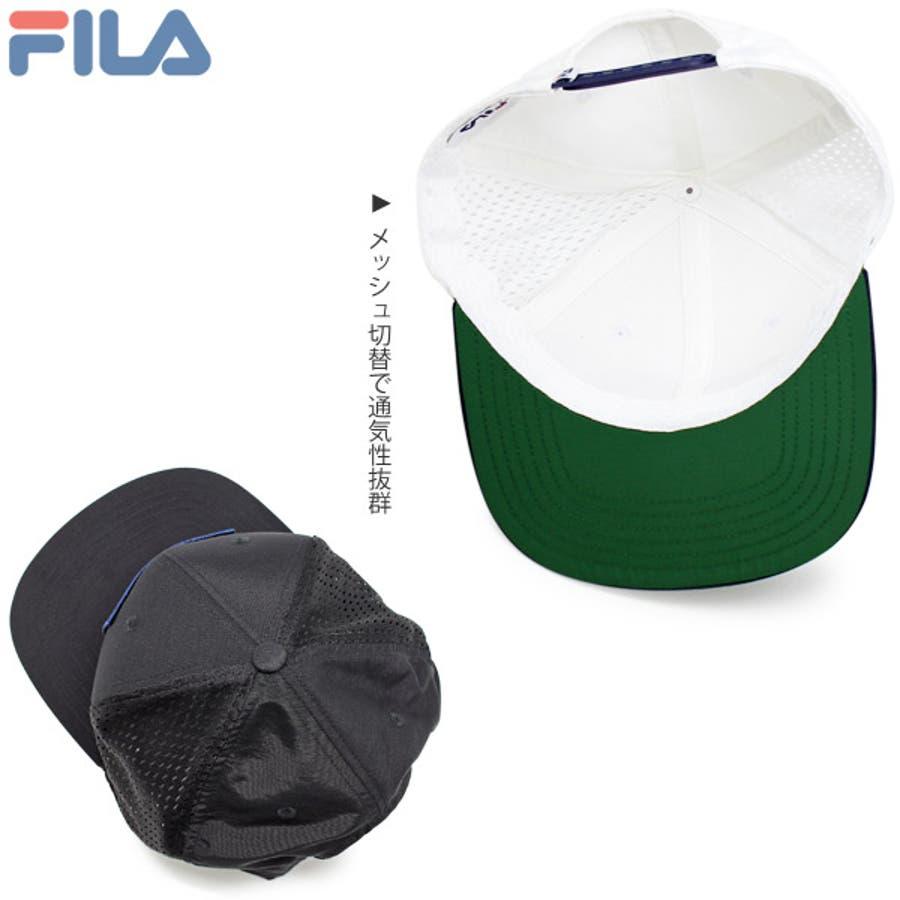 キャップ メンズ 帽子 FILA メッシュキャップ レディース CAP 赤 春夏 秋冬サイズ調節FILA(フィラ)スポーツメッシュキャップ 9