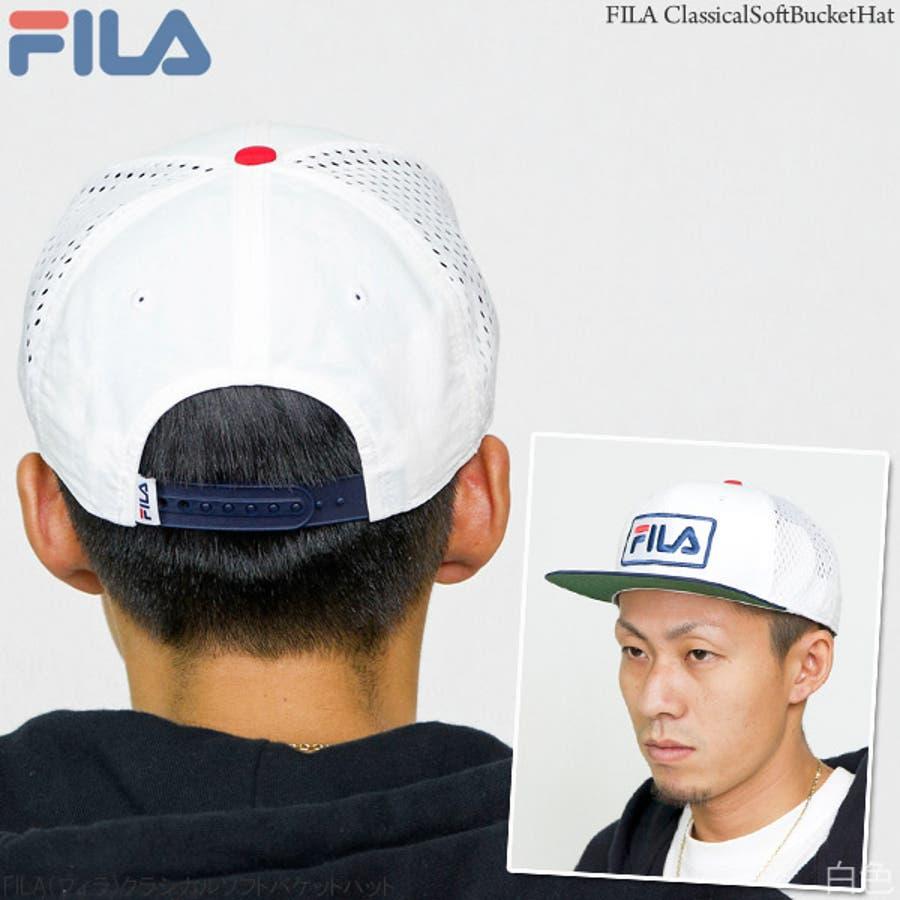 キャップ メンズ 帽子 FILA メッシュキャップ レディース CAP 赤 春夏 秋冬サイズ調節FILA(フィラ)スポーツメッシュキャップ 6