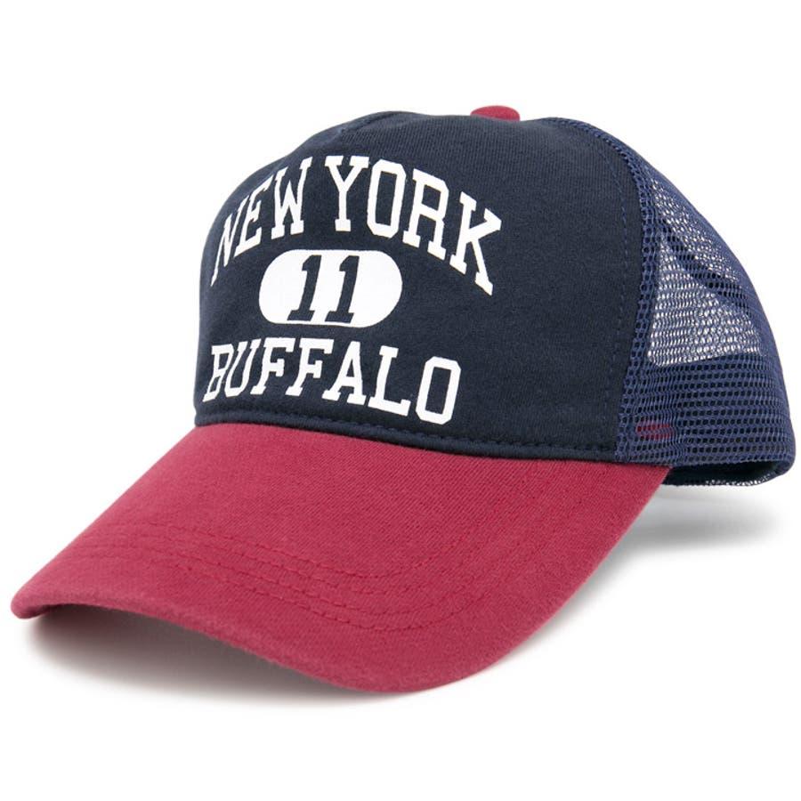 キャップ 春夏 メンズ 帽子 レディース CAP メッシュキャップ スウェット サイズ調節 CASTANOカレッジSWEATメッシュキャップ 98