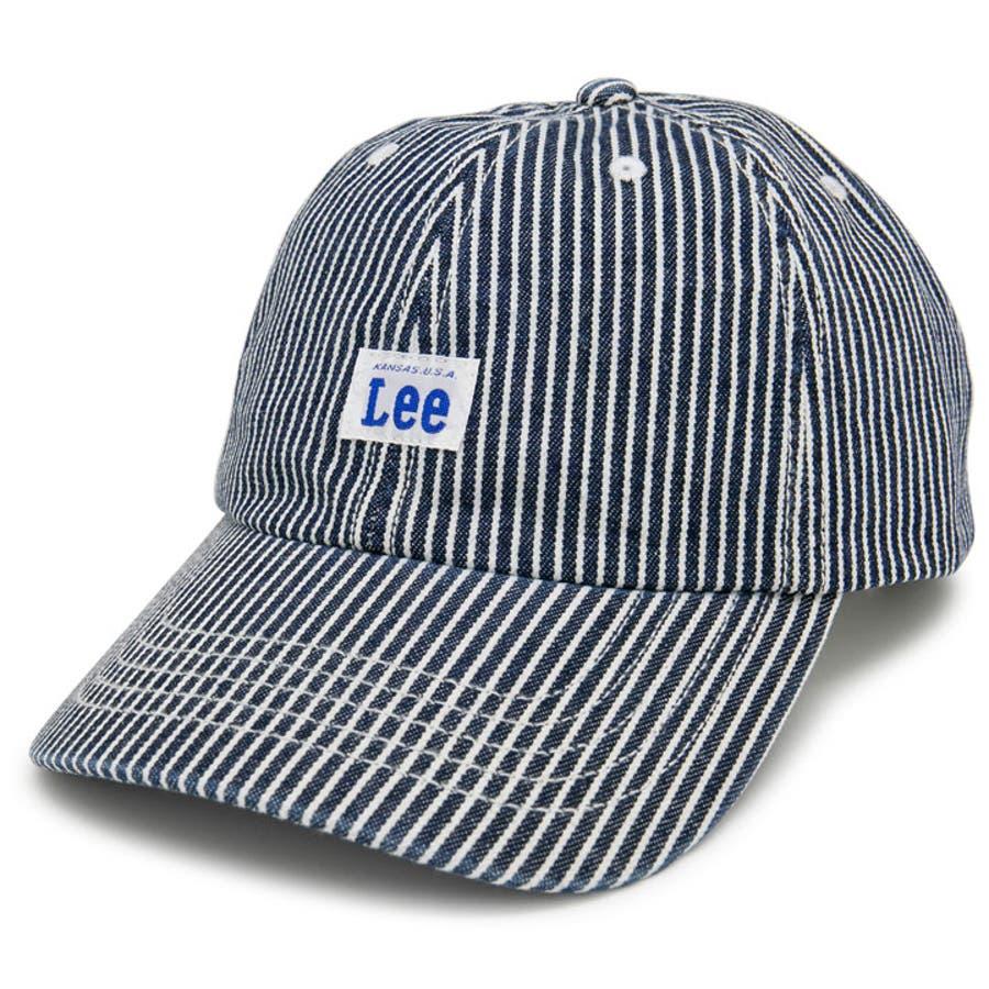 キャップ リー 帽子 メンズ レディース 春夏 秋冬 オールシーズン サイズ調整 手洗いOK Leeデニムローキャップ 108