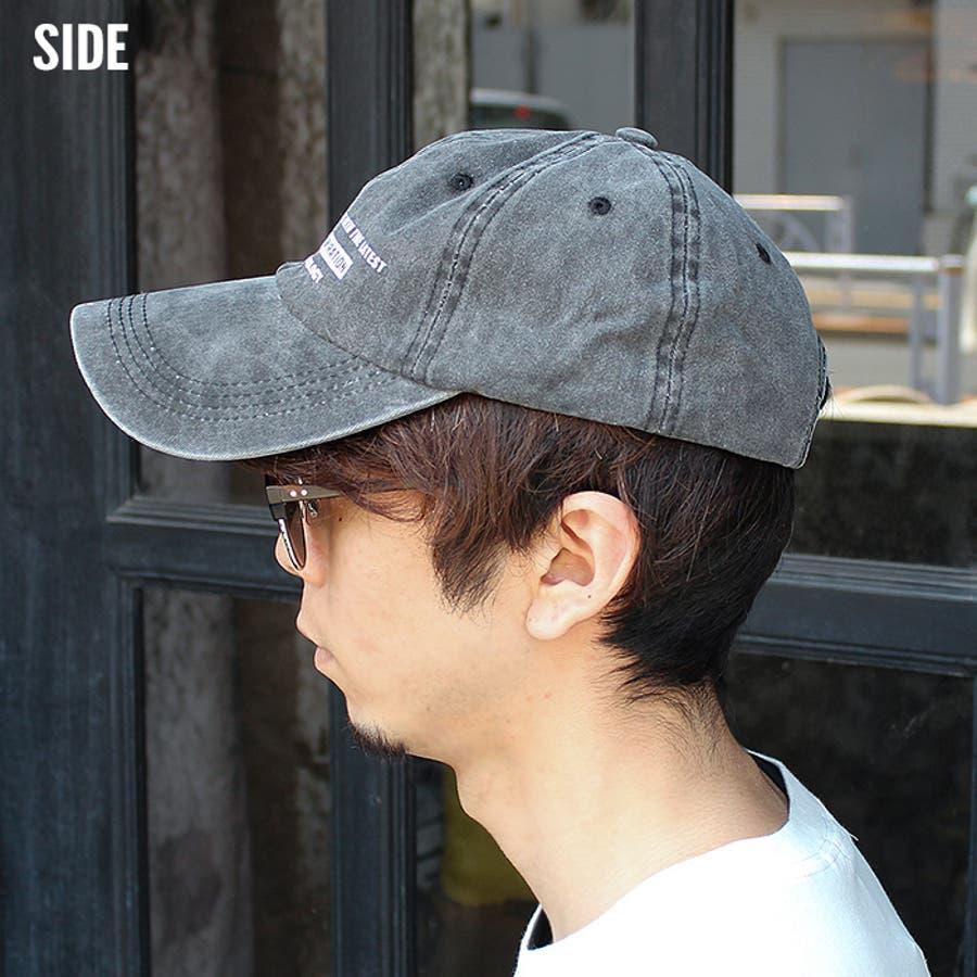 メンズ キャップ ツイルキャップ デニムキャップ 帽子 綿100% プリント mens CAP アメカジ カジュアルFサイズフリーサイズ サイズ調整可能 紳士 春夏新作「820-47」【MG10】 6