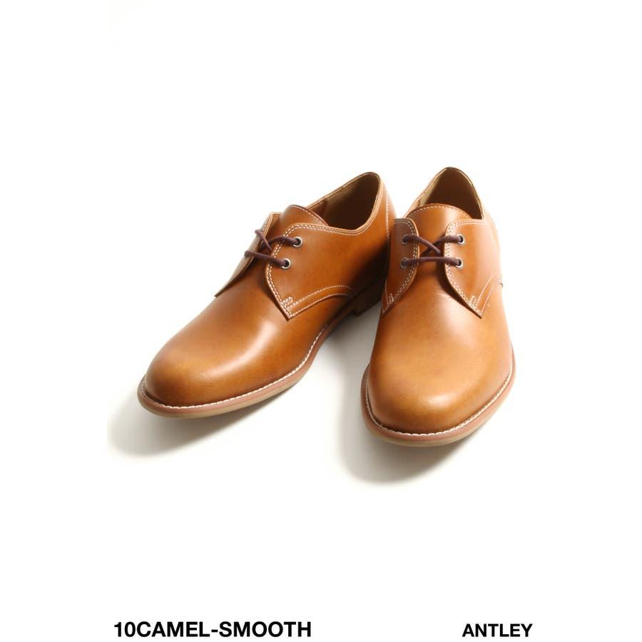 レザーシューズ メンズ/本革 革靴 ベックマン ポストマン プレーントゥ オックスフォードシューズ カジュアル ビジネス