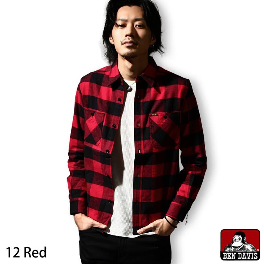 ガンガン着たい メンズファッション通販ネルシャツ メンズ メンズファッション チェックシャツ 長袖 フランネル ブロックチェック ワークシャツ レギュラーカラー綿 zip-cs  g-5380022 感化