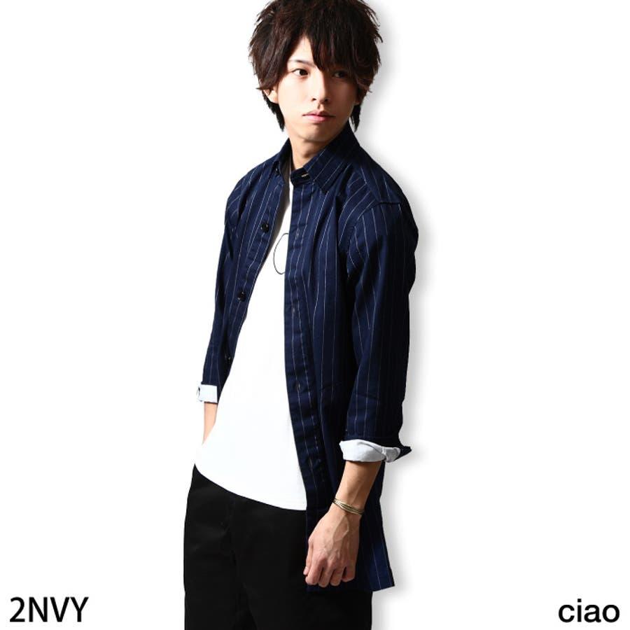 シャツコート メンズ メンズファッション 1