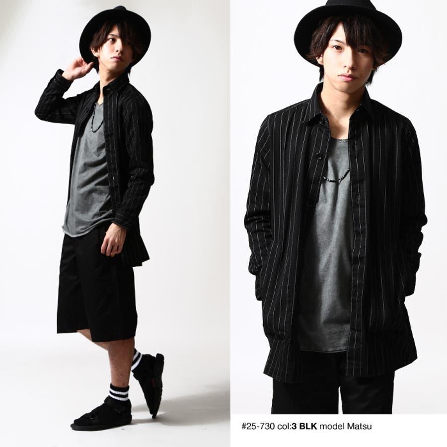 シャツコート メンズ メンズファッション 6