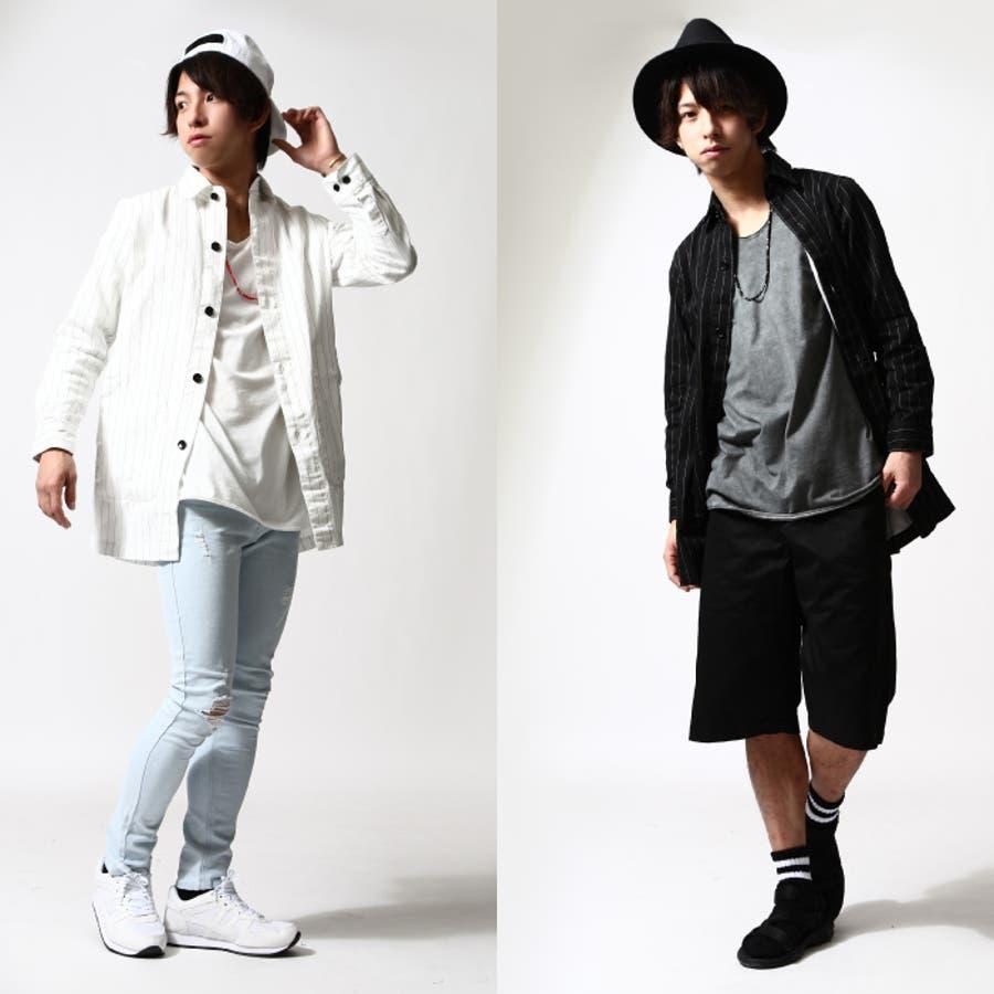 シャツコート メンズ メンズファッション 9