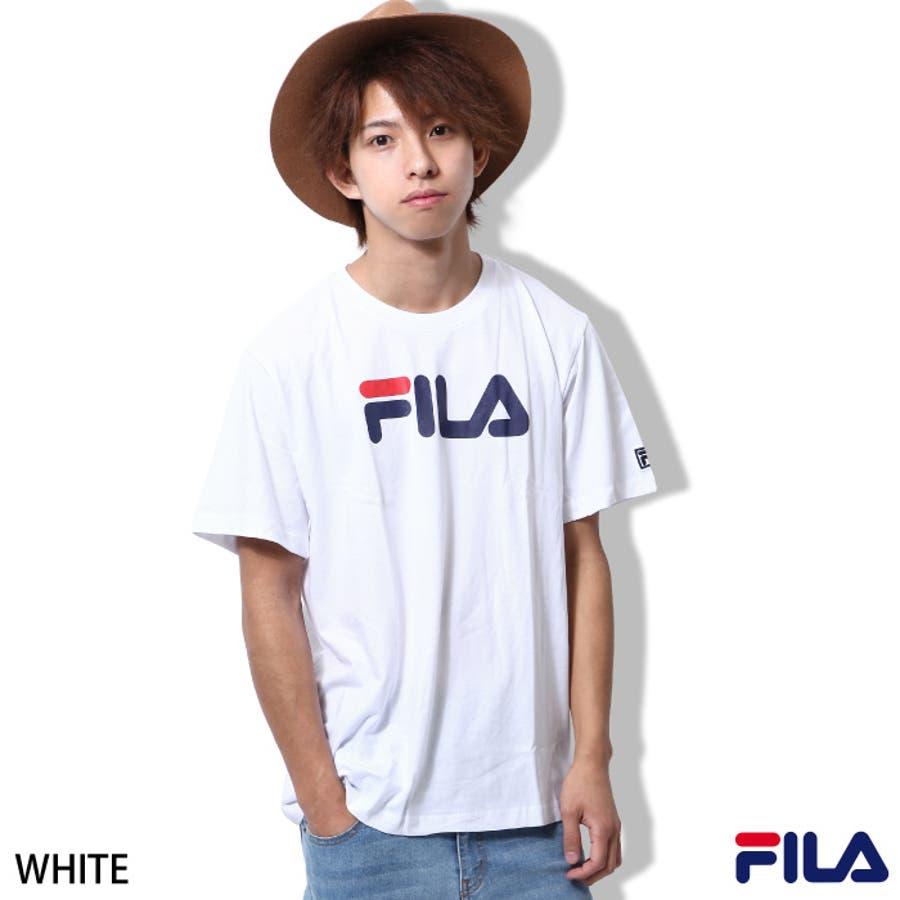 形も綺麗でとても気に入ってます Tシャツ メンズ メンズファッション 夏服 夏物 夏 半袖 クルーネック カットソー FILA フィラ スポT スポーツ ロゴプリント  zip-cs  fh7031 五穀
