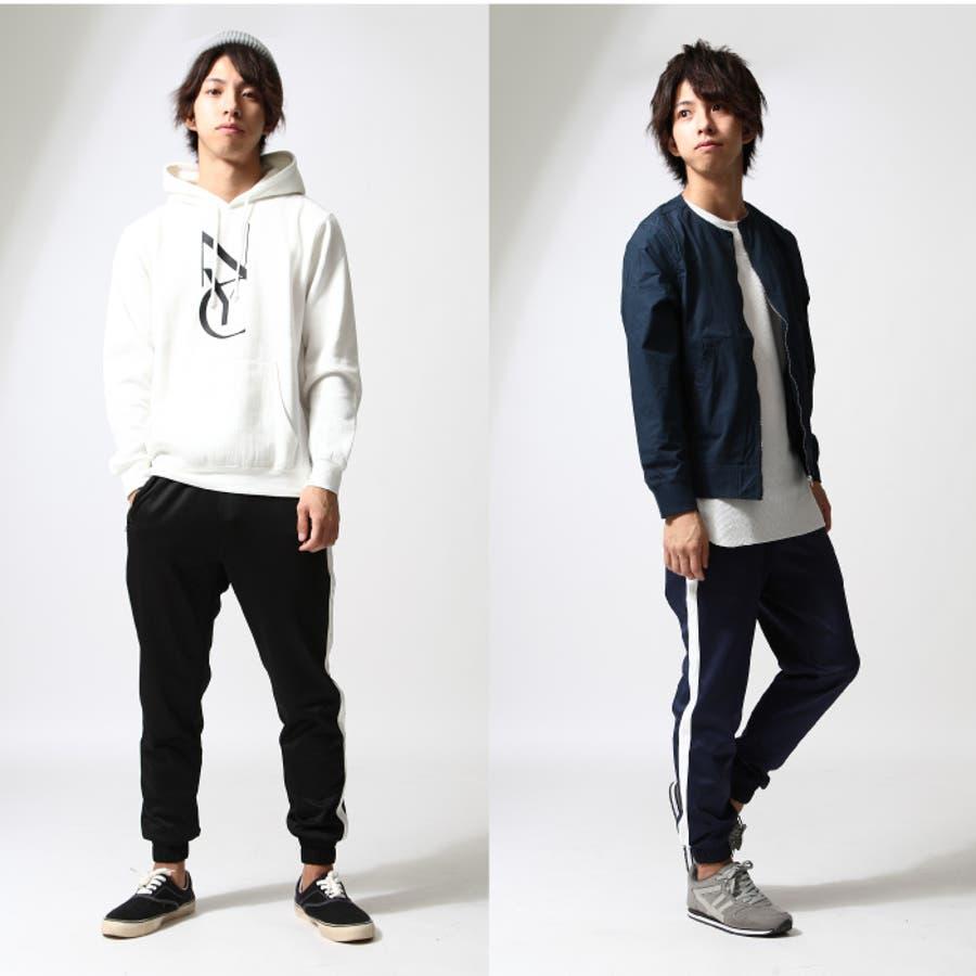 ラインパンツ メンズ/メンズファッション/秋 秋服 秋物 ジャージーパンツ ジョガーパンツ ジョグ