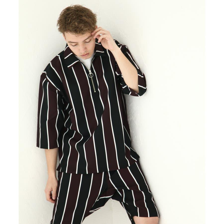 ポリトロ5分ハーフジップシャツ【160202bn】 9