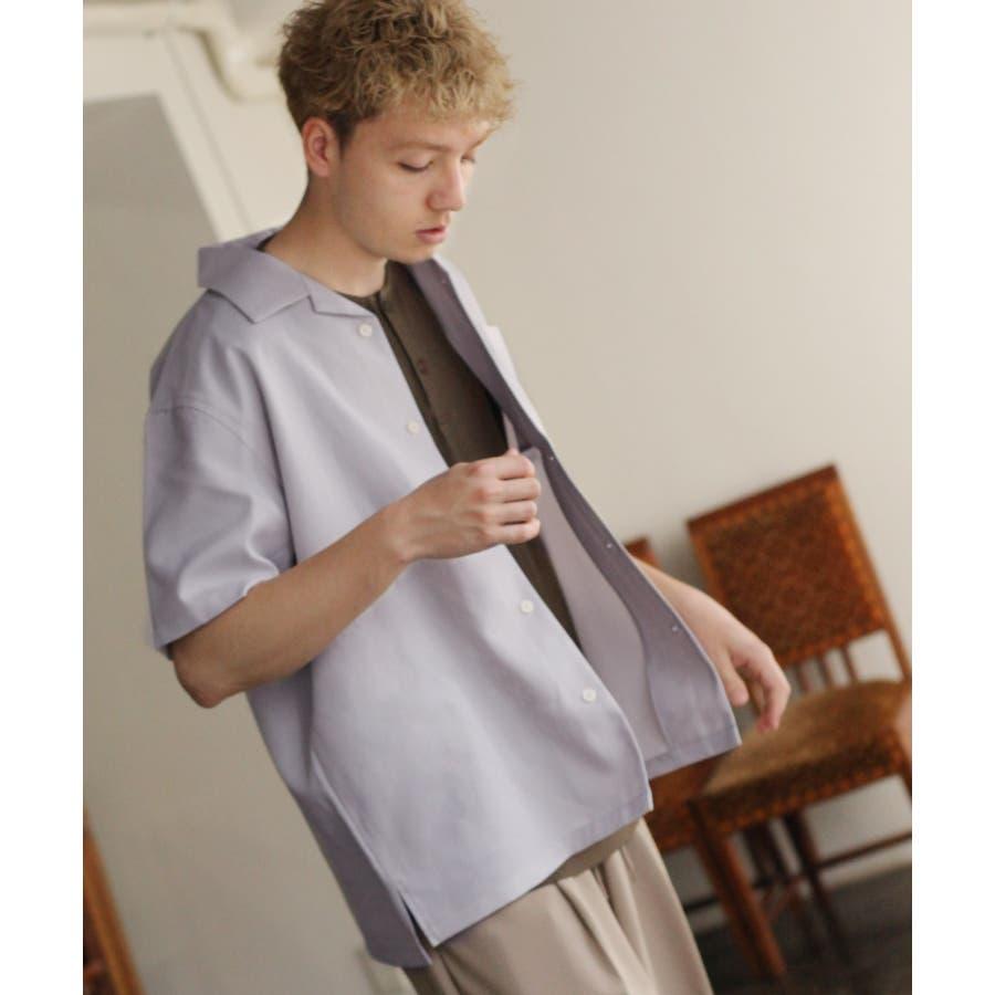 ポリトロ半袖オープンカラーシャツ【160203bn】 23