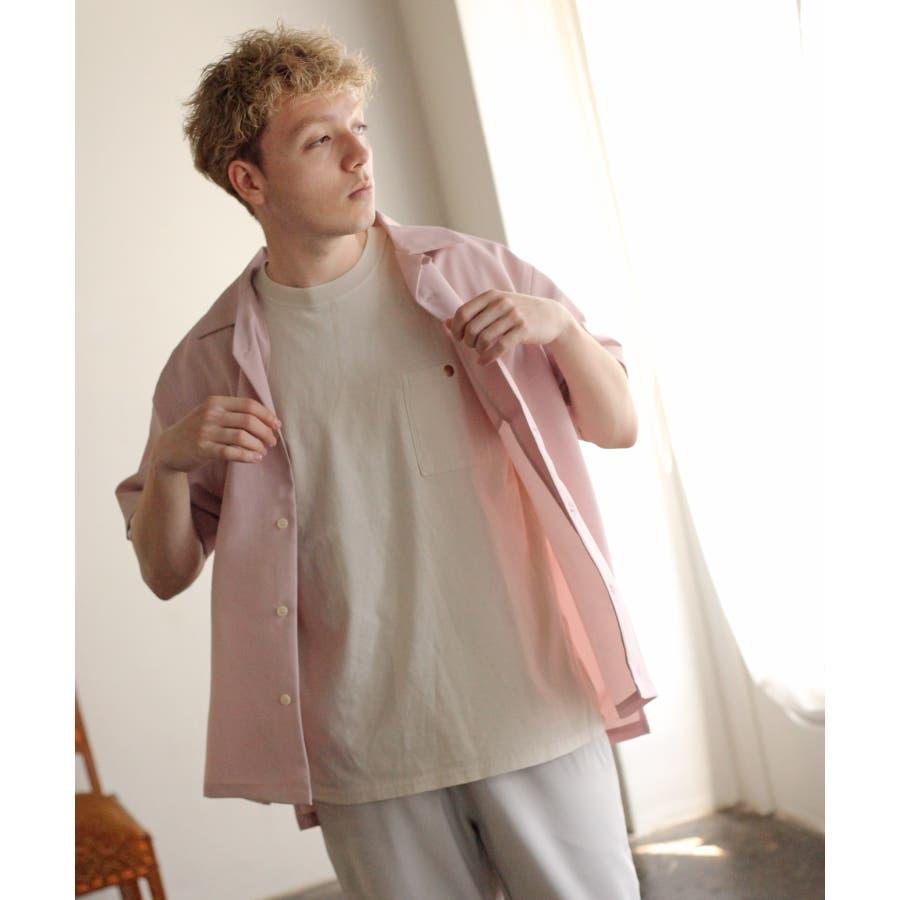 ポリトロ半袖オープンカラーシャツ【160203bn】 87