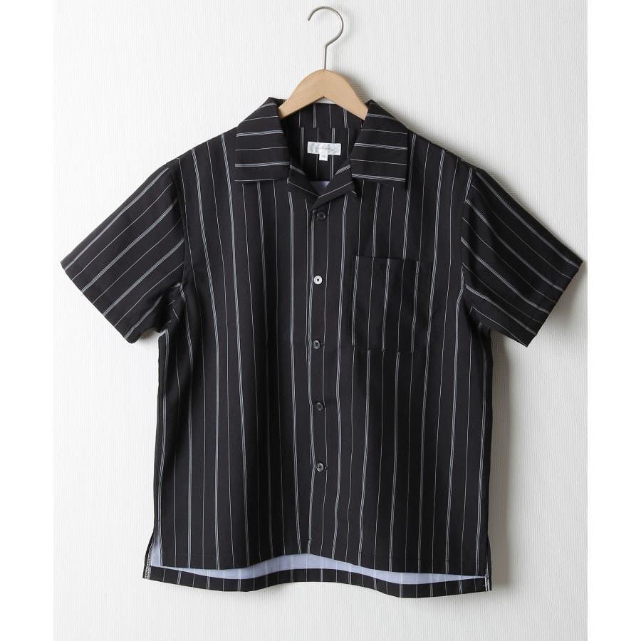 ポリトロ半袖オープンカラーシャツ【160203bn】 21