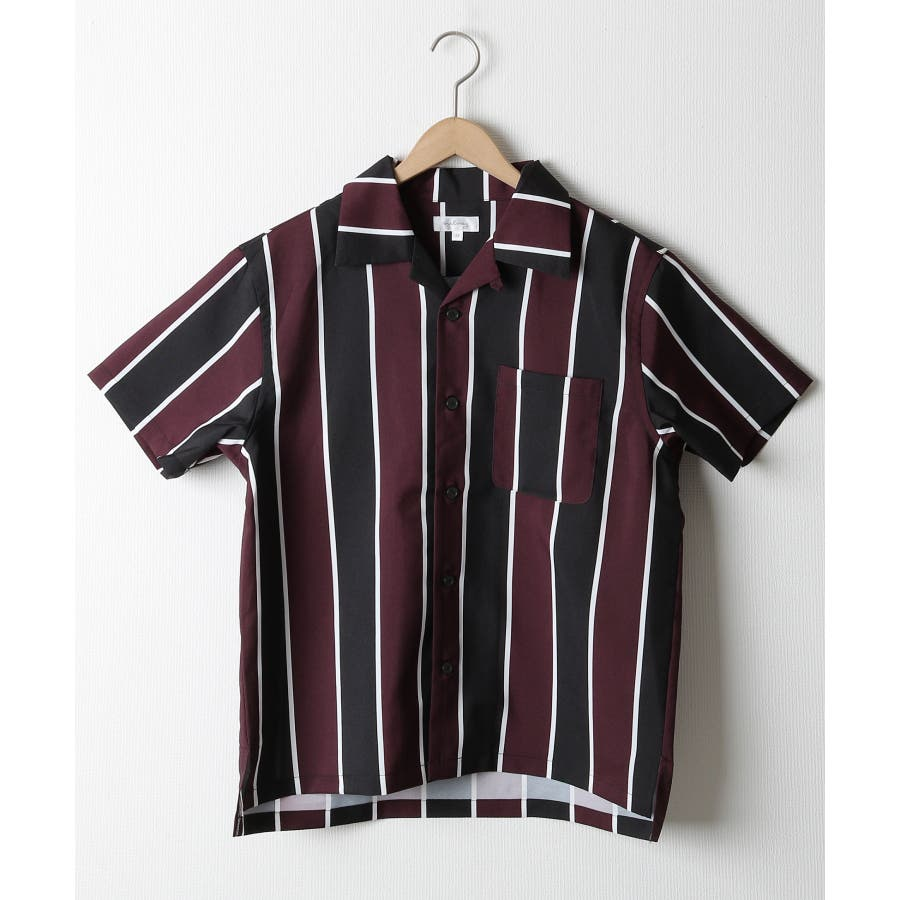 ポリトロ半袖オープンカラーシャツ【160203bn】 9