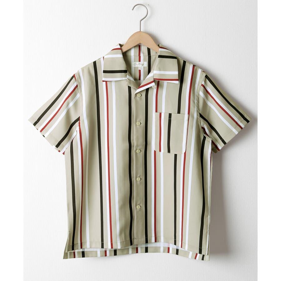 ポリトロ半袖オープンカラーシャツ【160203bn】 41