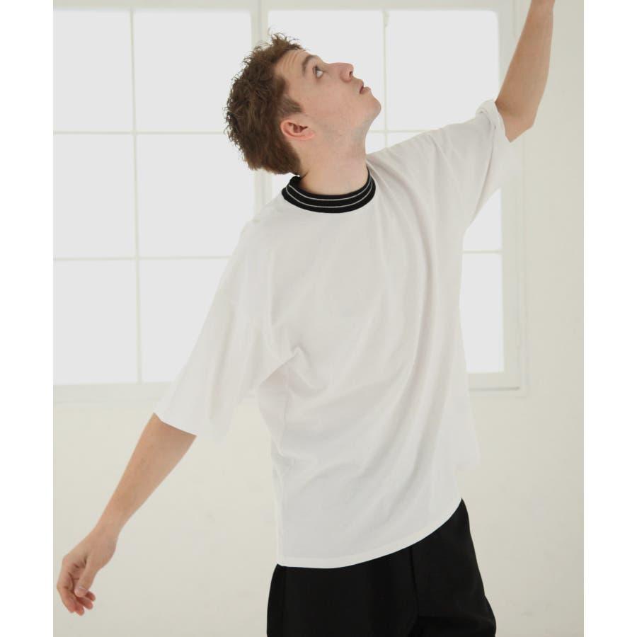 モックネックビッグTシャツ【171925bn】 16