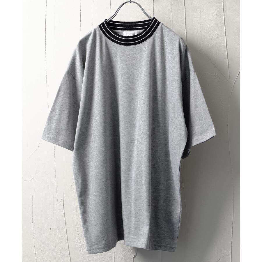 モックネックビッグTシャツ【171925bn】 28