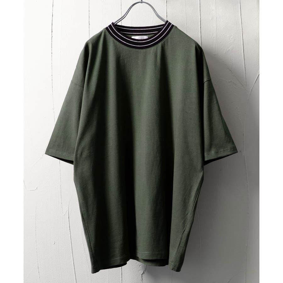 モックネックビッグTシャツ【171925bn】 47