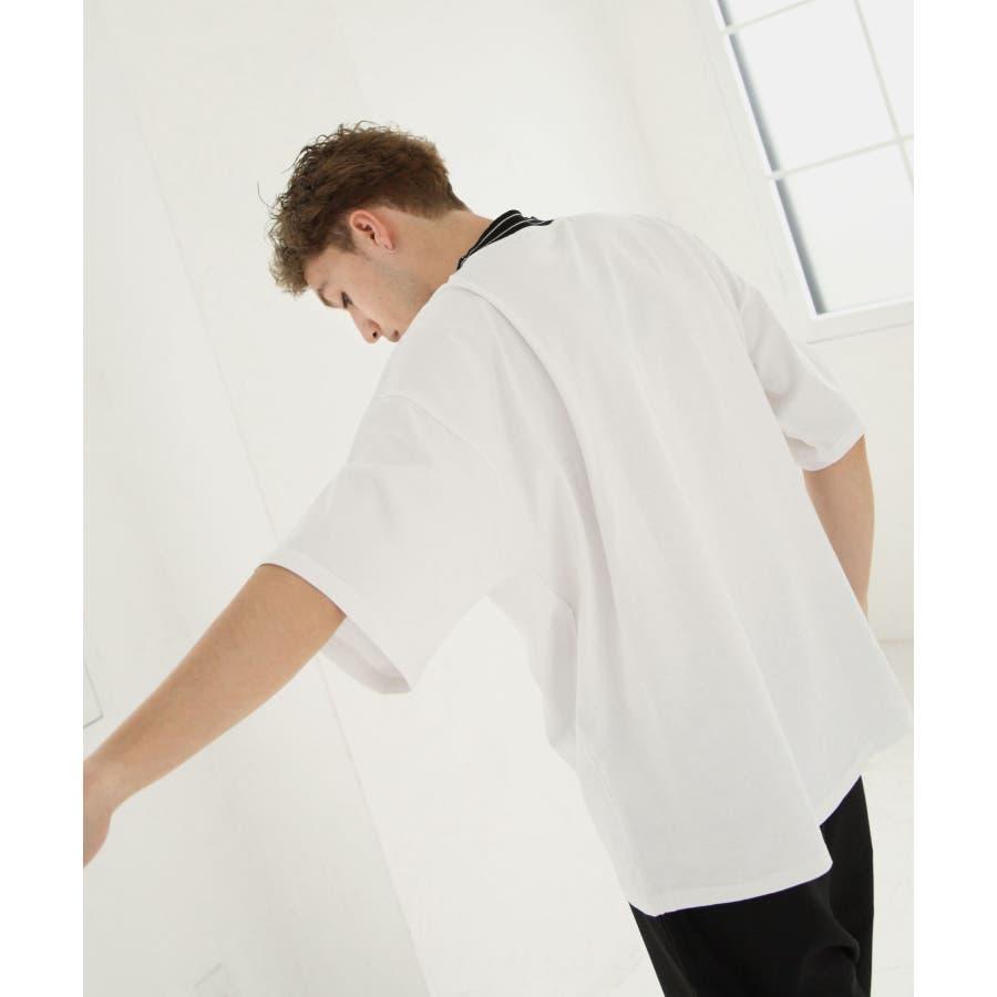 モックネックビッグTシャツ【171925bn】 9