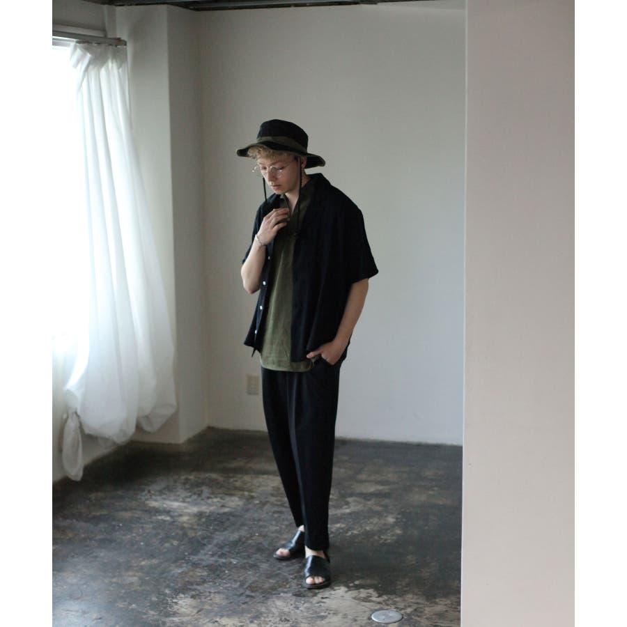 5分袖ピンタックキューバシャツ【171936bn】 6
