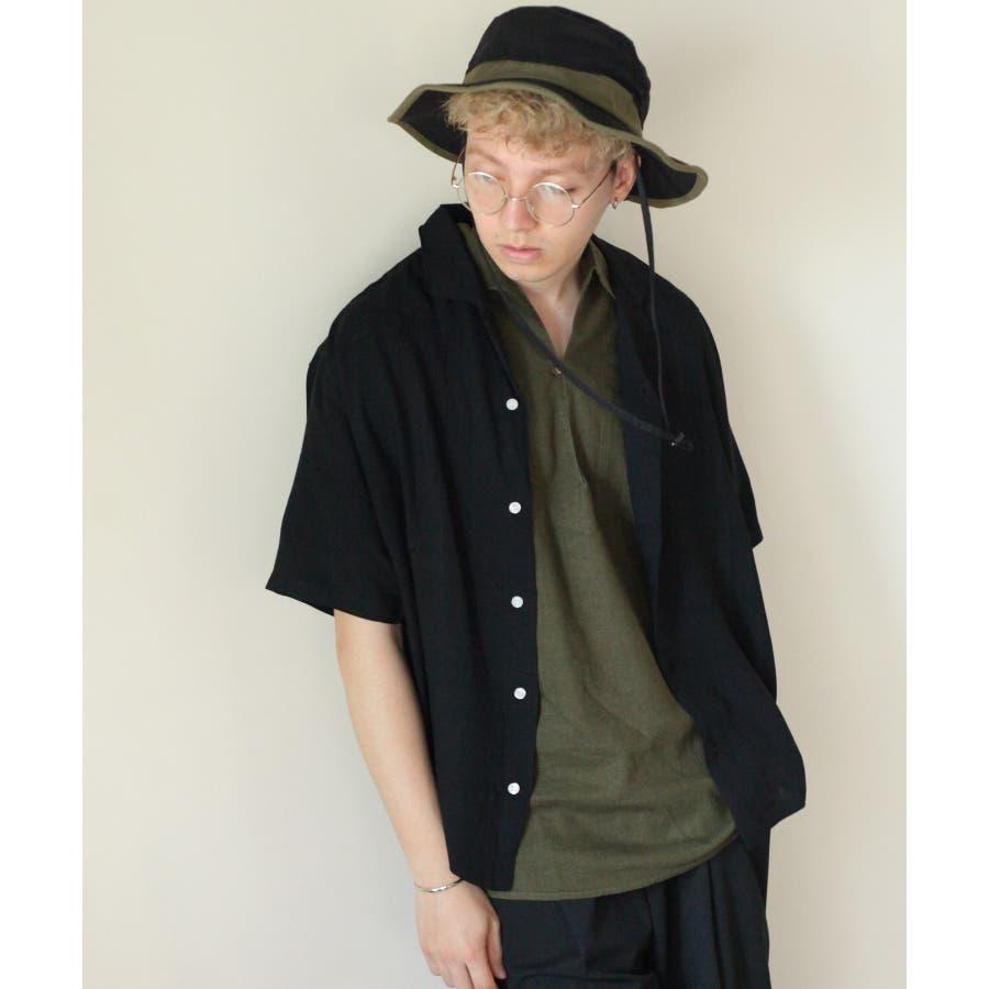 5分袖ピンタックキューバシャツ【171936bn】 21