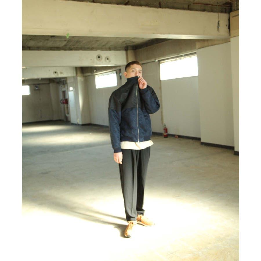 ブルゾン ジャケット アウター ポリスエード メンズ Nilway【191935bn】 7