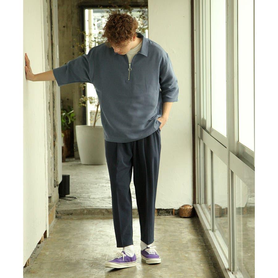 シャツ カジュアルシャツ ハーフジップ ポリトロ メンズ Nilway ニルウェイ【191941bn】 10