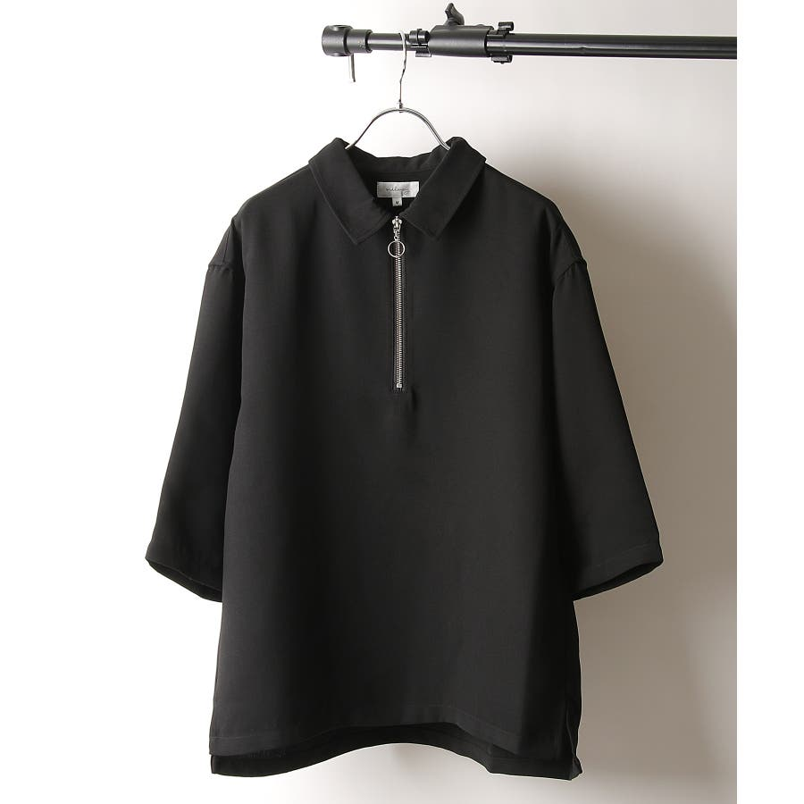 シャツ カジュアルシャツ ハーフジップ ポリトロ メンズ Nilway ニルウェイ【191941bn】 21