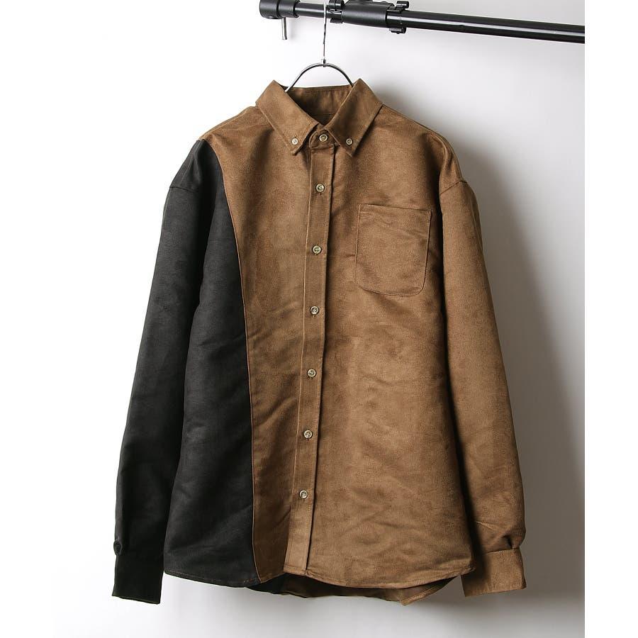 シャツ カジュアルシャツ ビッグシャツ ビッグシルエット アシンメトリー メンズ Nilway【191944bn】 29