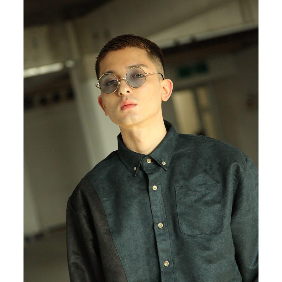 シャツ カジュアルシャツ ビッグシャツ ビッグシルエット アシンメトリー メンズ Nilway【191944bn】 8