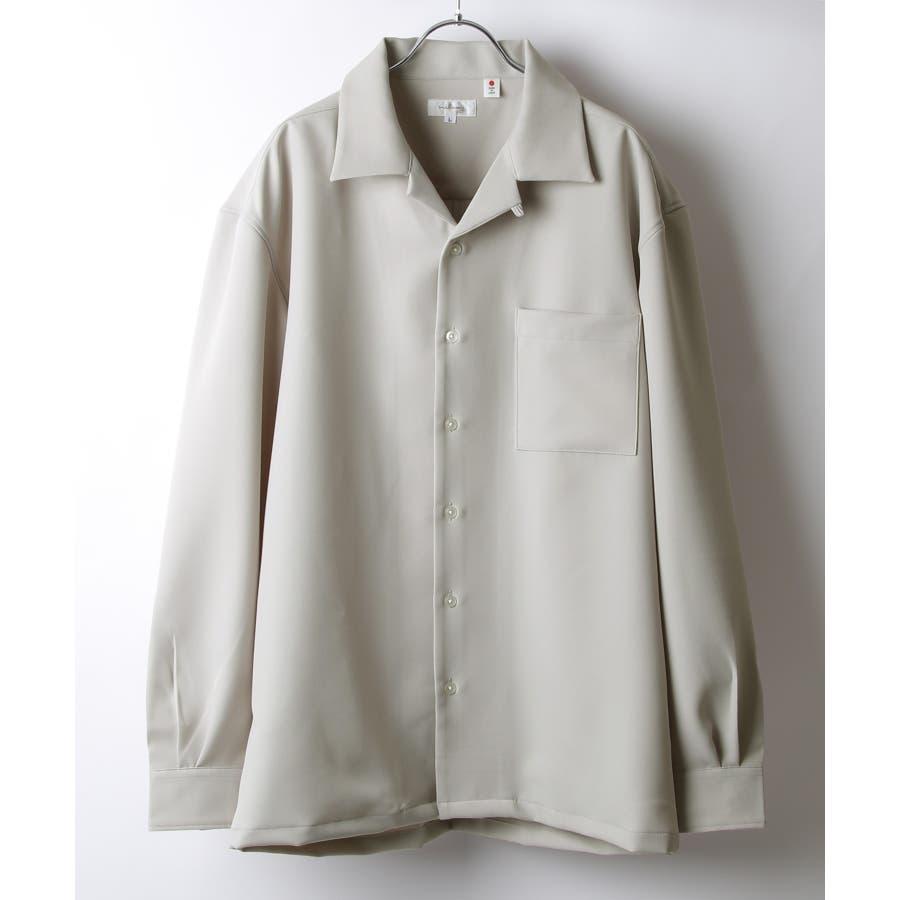 Nilway ニルウェイ シャツ カジュアルシャツ オープンカラー 日本製 国産 メンズ 夏 夏物 夏服春服【20-ss-092】 23