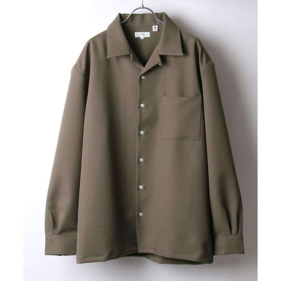 Nilway ニルウェイ シャツ カジュアルシャツ オープンカラー 日本製 国産 メンズ 夏 夏物 夏服春服【20-ss-092】 29