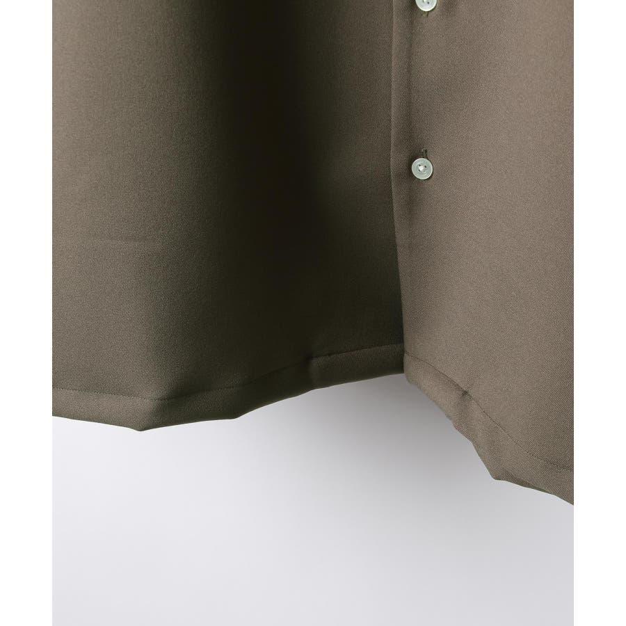 Nilway ニルウェイ シャツ カジュアルシャツ オープンカラー 日本製 国産 メンズ 夏 夏物 夏服春服【20-ss-092】 7