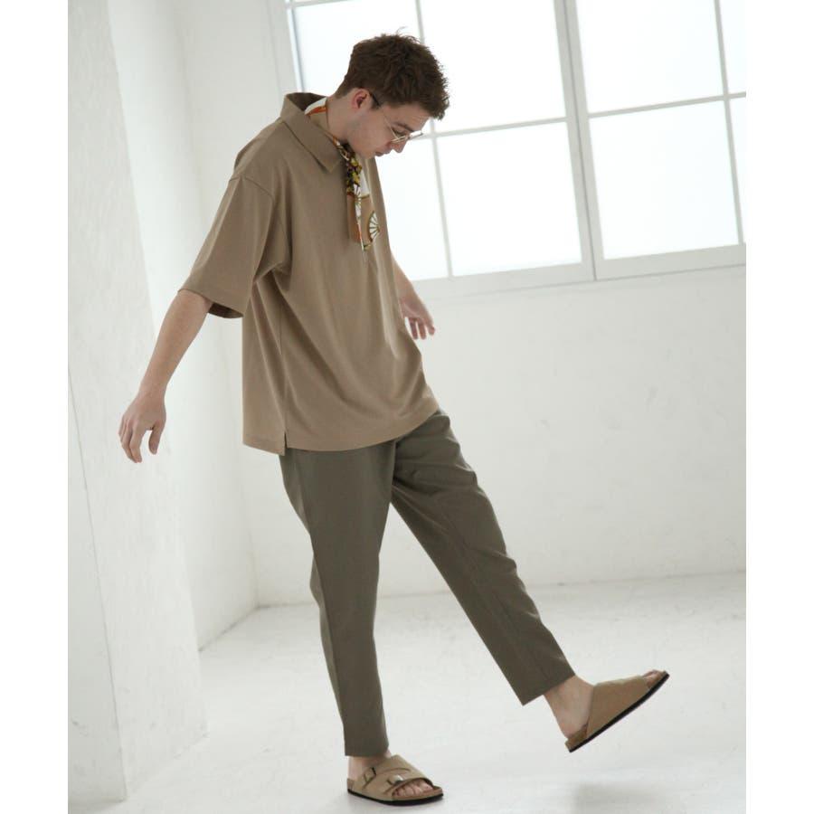 UVカットドライ鹿の子ハーフジップ【br2004】 6