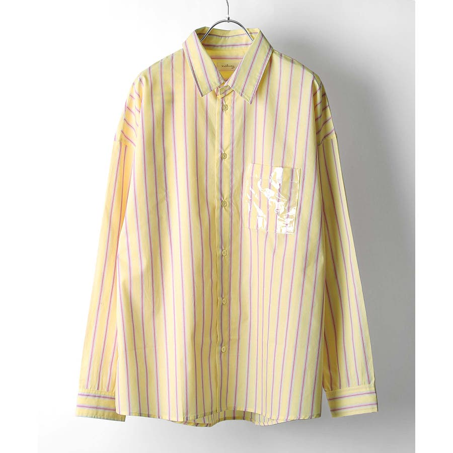 シャツ カジュアルシャツ ビッグシャツ ビッグシルエット クリアポケット Nilway ニルウェイ【db19ss-002】 83
