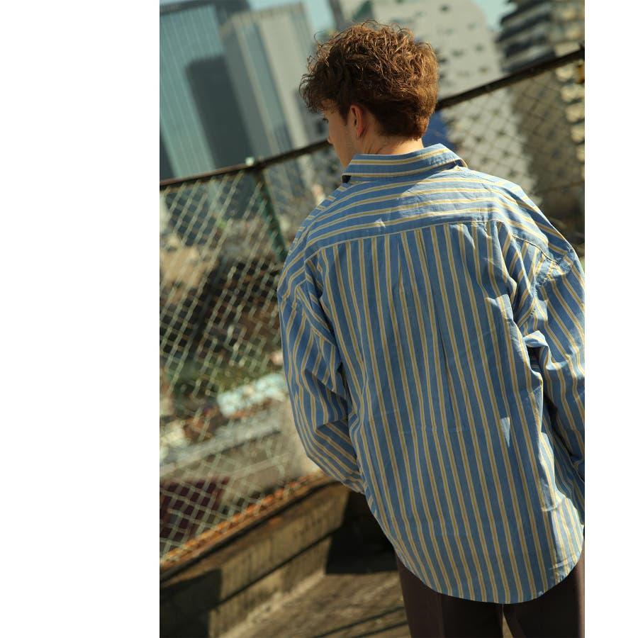 シャツ カジュアルシャツ ビッグシャツ ビッグシルエット クリアポケット Nilway ニルウェイ【db19ss-002】 6