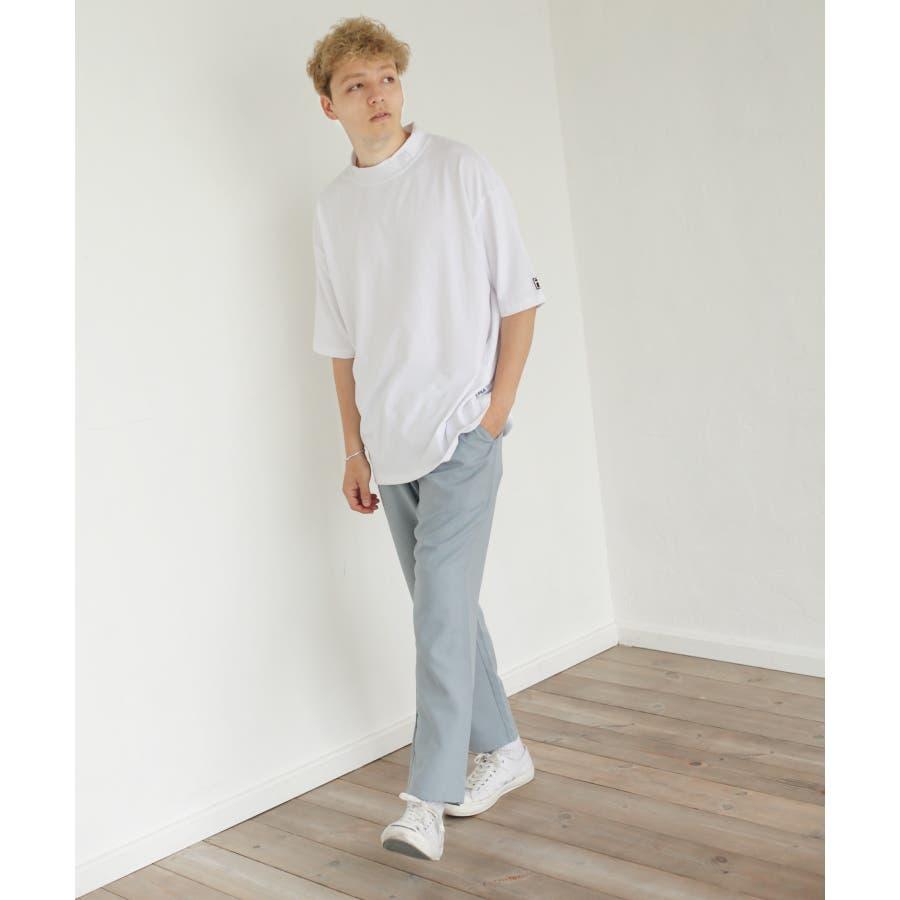 FILA×Nilway 別注リフレクターモックネックTシャツ【fh7525】 7