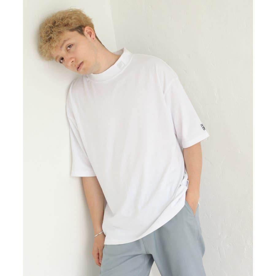 FILA×Nilway 別注リフレクターモックネックTシャツ【fh7525】 16