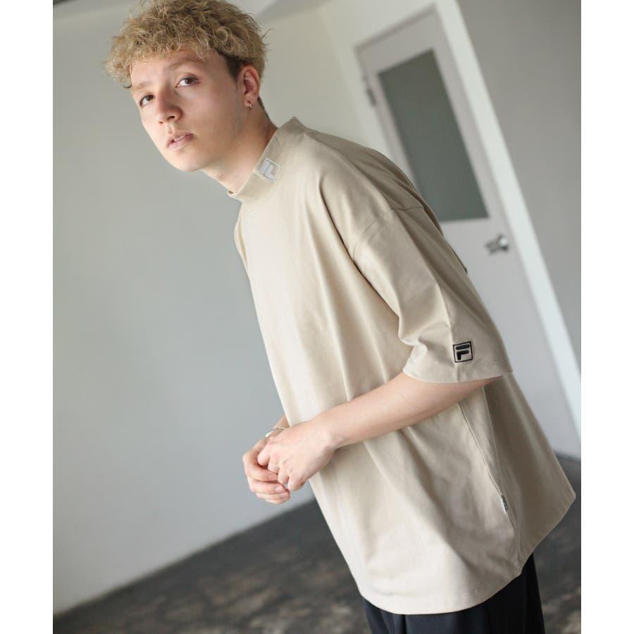 FILA×Nilway 別注リフレクターモックネックTシャツ【fh7525】 41