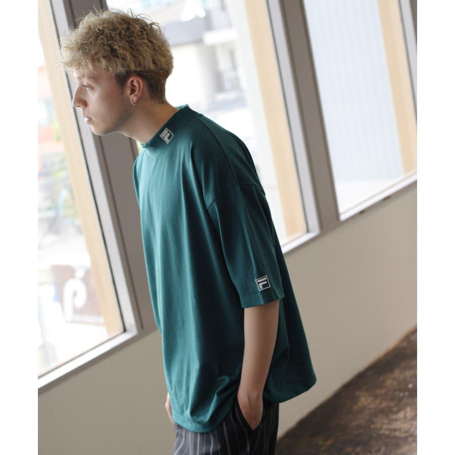 FILA×Nilway 別注リフレクターモックネックTシャツ【fh7525】 47