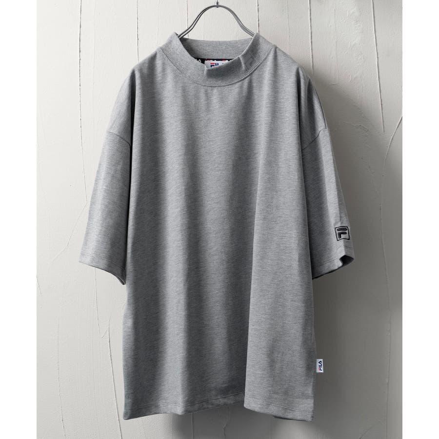 FILA×Nilway 別注リフレクターモックネックTシャツ【fh7525】 23