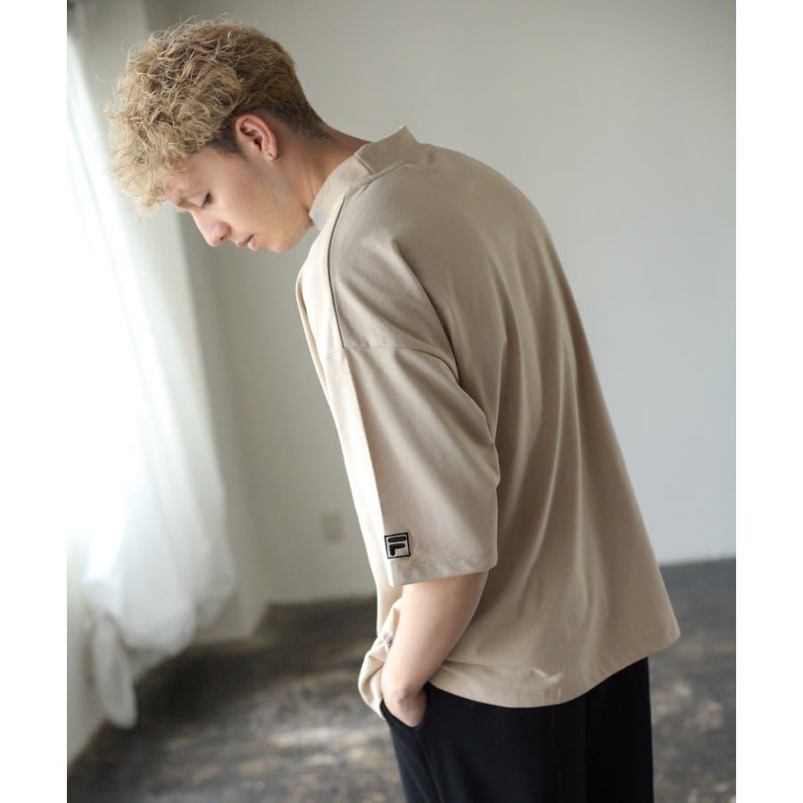 FILA×Nilway 別注リフレクターモックネックTシャツ【fh7525】 10