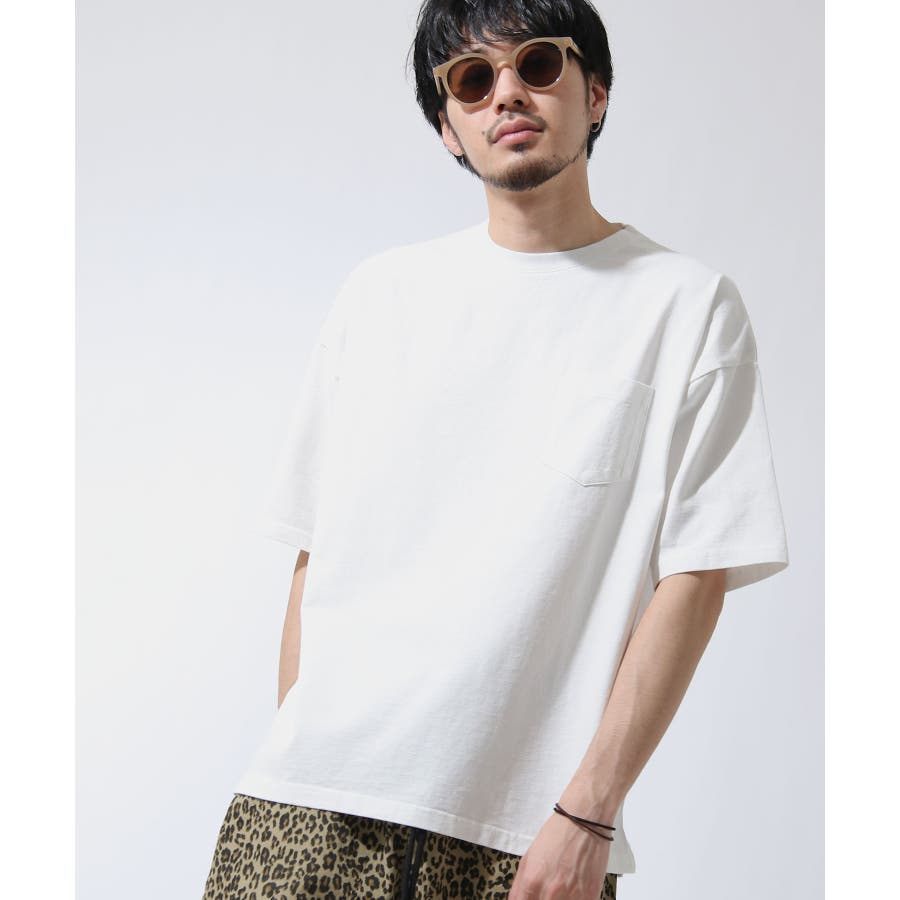 Tシャツ メンズ カットソー 半袖 ビッグシルエット ナノテック 無地 ZIP ジップ 夏 夏物夏服【i-0551006】# 17