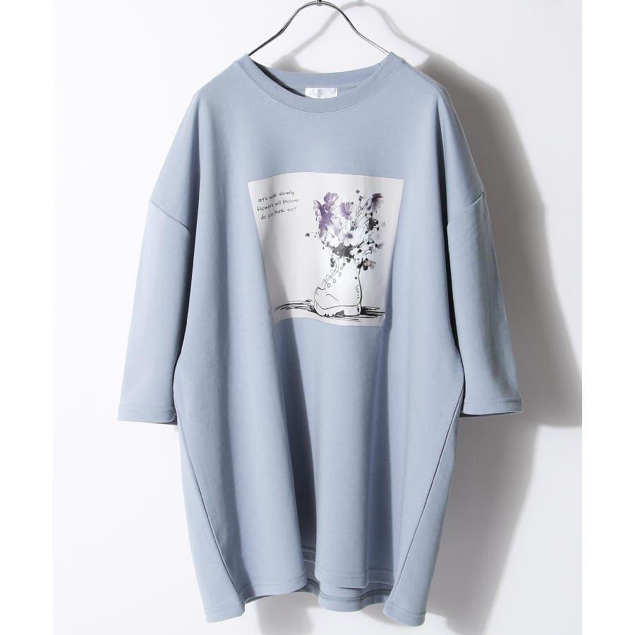 メンズ Tシャツ 半袖 オーバーサイズ Nilway ニルウェイ 夏 夏物 夏服【20026-11gz】 4