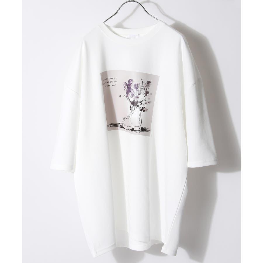 メンズ Tシャツ 半袖 オーバーサイズ Nilway ニルウェイ 夏 夏物 夏服【20026-11gz】 5