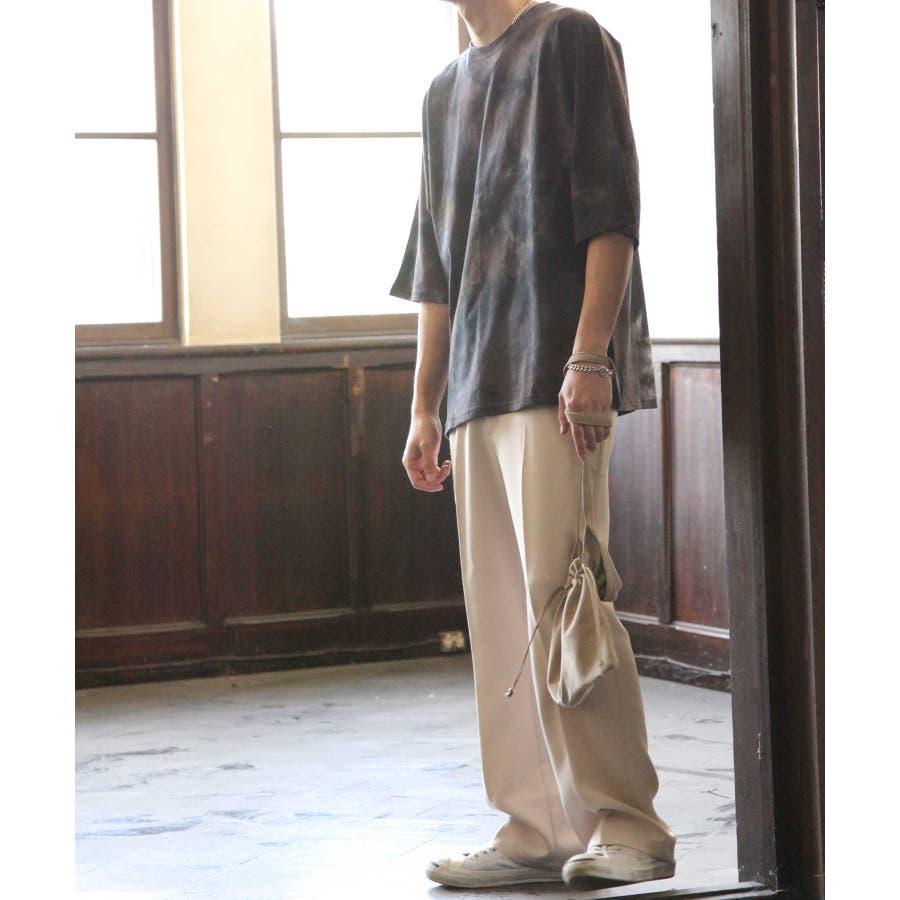 Tシャツ メンズ カットソー ドルマン タイダイ 総柄 Nilway ニルウェイ 夏 夏物 夏服【br4055】 5